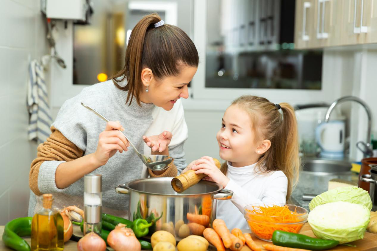 What to Feed Your Child For a Healthy Growth